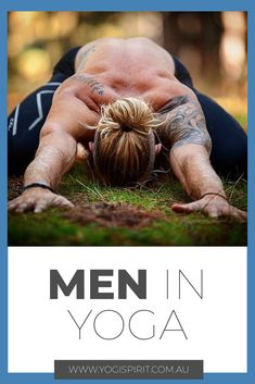 There has been an increase in the amount of men doing yoga in the last few years and that's no surprise really. The previous generation of men were some of the most emotionally repressed in history. The whole gender battle and the expectations that women Yoga Poses For Men, Yoga Poses For Beginners, Yoga For Men, Yoga Man, Yoga Nidra, Yoga Sequences, Asana, Losing Weight, Weight Loss