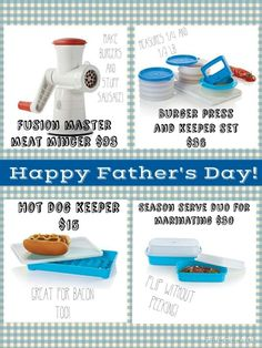 Burger Press, Happy Fathers Day, Tupperware, How To Make, Tub