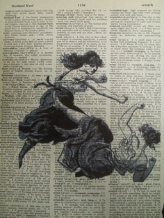 Girl Fight Female Pugilistic Boxing Vintage by ThePaperSnail, $6.00