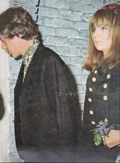 Mick Jagger and Chrissie Shrimpton - Dating, Gossip, News, Photos Chrissie Shrimpton, Jean Shrimpton, Muse Music, Mick Jagger Rolling Stones, Stupid Girl, Lady And Gentlemen, Celebrity Couples, Old Hollywood, Style Icons