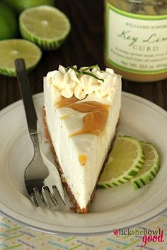 No Bake Lime cheescake