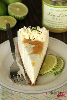 Lime Curd Icebox Cheesecake