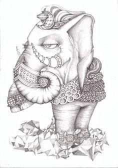 """Elefante"" - Mariano Vincent"