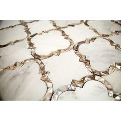 Cassie Chapman Eva Marble & Pearl Tile