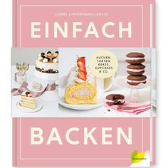 Backbuch Cover Cupcakes, Birthday Cake, Place Card Holders, Breakfast, Desserts, Zimmermann, Food, Muffin, Cover