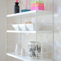 clean shelving