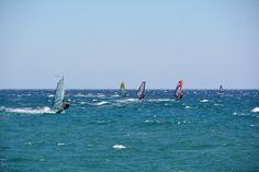 Davosskates.gr Windsurfing, Waves, Outdoor, Outdoors, Outdoor Games, Outdoor Living, Beach Waves, Wave
