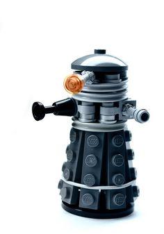 Lego Dalek!!! #dalek. I post so many, starting to wonder if I should just do a separate #doctorwho board lol