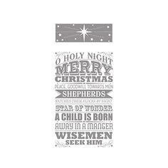 O Holy Night Stamp Brush Set -- Digital Download by Stampin' Up!