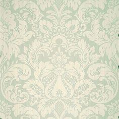 Scalamandre Wallpaper WP88213-008 Daphne Aqua