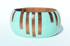 Hey, I found this really awesome Etsy listing at https://www.etsy.com/listing/109154399/stripes-dome-wood-bangle