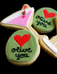 @Katie O'Connor I could totally see you baking these cookies for Valentine's Day!