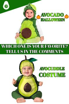 Avocado Costume, Which One Are You, Baby Costumes, A Funny, Cuddle, Get One, Your Favorite, Halloween, Check