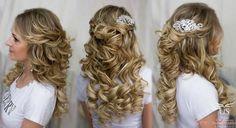 Картинки по запросу свадебные прически распущенные волосы