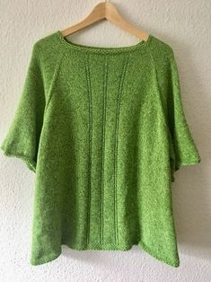 Free Knitting Pattern - The Bobbelbox Shirt - Nadelspiel - Knit Shrug, Knitted Poncho, Crochet Cardigan, Shrug Sweater, Ladies Poncho, Big Knits, Neutral Outfit, Casual Looks, Shirts