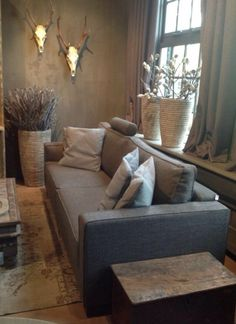 34 Super Ideas For Rustic Living Room Furniture Couch Texture Rustic Living Room Furniture, Couch Furniture, Cozy Living Rooms, Living Room Grey, Living Room Modern, Home Living Room, Living Room Designs, Living Room Decor, Living Spaces