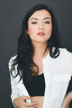 I have a huge girl crush on Natasha Negovanlis from Carmilla