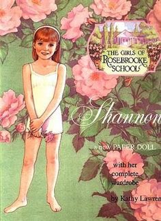 """The Girls of Rosebrooke School Series - """"Shannon"""" by Kathy Lawrence - B. Shackman & Co., 1999: Front Cover"""