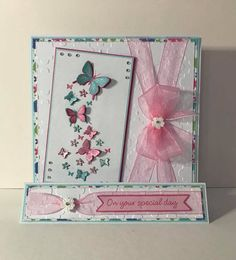 Chloes Creative Cards, Stamps By Chloe, Paper Art, Paper Crafts, Diy Cards, Handmade Cards, Art Easel, Easel Cards, Die Cut Cards