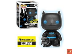 Silhouette Batman Glow In The Dark Entertainment Earth Exclusive Vinyl Figure. This figure is brand new (never opened). Pop comes direct from Entertainment Eart