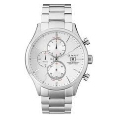 WR: 5 ATM - Gender: Gent - Case Material: SS - Band Material: SS Bracelet - Movement: Quartz - Functions: Chronograph - Date - Glass: Mineral - Tipo Prodotto: W Vermont, Michael Kors Watch, Chronograph, Quartz, Mens Fashion, Watches, City Life, York, Brand Name Watches