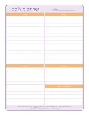 Printable check lists