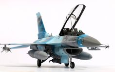 """""""F-16D 18th AGRS Wolfpack Bandits"""" By Seung Yong Ryu 1:48 Scale academy kit + Monokio decals"""