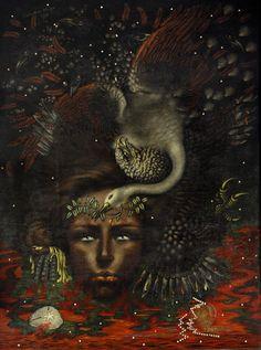 Portrait of Rimbaud, 1933 - Valentine Hugo