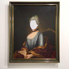 Hans-Peter Feldmann, 'Portrait of a Lady without Face' via Konrad Fischer Galerie   Galleries 2015 #ArtBasel
