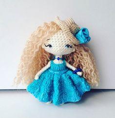 Amigurumi doll by Maria Karaeva ami_dolls. (Inspiration).