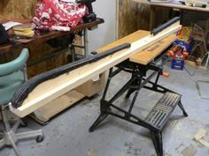 Build A Home-Made Wax Bench For Your Skis