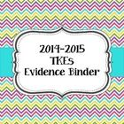 Need to keep track of all of your evidence for TKEs?   This binder is for you!   It includes:  Cover Standards 1-10 (each individual standard) Each...