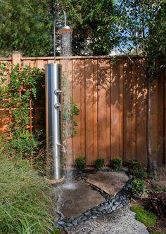 une douche à installer dans le jardin