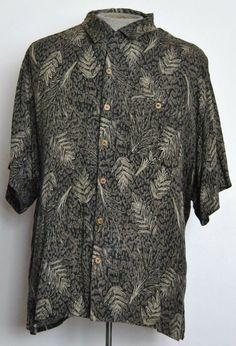 Ivy Crew Shirt 2XL Mens Hawaiian Multi-Color Floral 100% Rayon Short Sleeve   #IvyCrew #Hawaiian free shipping auction starting at $12.99