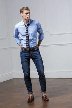 The Prepster - KK184 Slim Fit Workwear Oxford Shirt