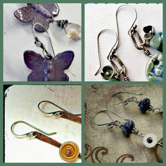 Art Jewelry Elements: Saturday Share: Ear wires...with a twist!