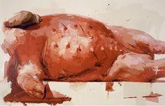 Artwork Suspension by Jenny Saville