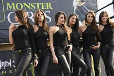 Pretty promotional models, paddock girls, car show models, pit babes, racing models and grid girls. Grid Girls, Filles Monster Energy, Monster Energy Girls, Dream Cars, Promo Girls, Umbrella Girl, Leather Lingerie, Biker Girl, Hot Outfits