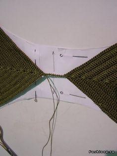 Вязаный купальник от sudarikova-nika / вязание крючком купальники