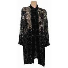 Silk and Velvet asian-inspired plus size jacket
