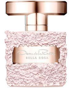 Oscar de la Renta Bella Rosa Eau de Parfum, Beauty - All Perfume - Macy's Perfumes Dior, Perfume Scents, Perfume Bottles, Ysl Parfum, Parfum Rose, Fragrance Parfum, Perfume Coach, Perfume Hermes, Perfume Collection