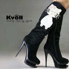 Hello Kitty High Heels Shoes