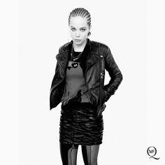 Introducing the McQ Autumn/Winter 2013 campaign, featuring Alice Glass, April Tiplady and Tom Gaskin photographed by David Sims | tbFAKE