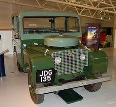 Land Rover 80 Serie One SwJDG 135 1949