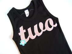 2 year old Birthday Shirt, Girls 2nd birthday tee #turningtwo #birthdaygirl #birthdayshirt