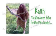 Around Before The WheelAdult  Birthday Card by AnnKayGreetingCards, $5.50