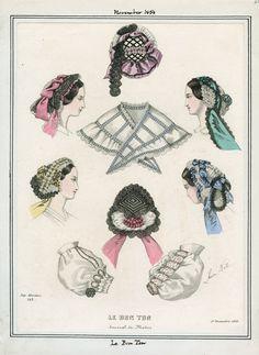 LAPL, Le Bon Ton, November 1858