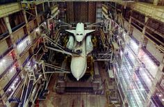 /via martin.trolle #flickr #CCCP #Energia #rocket #Buran #space #shuttle #MIK