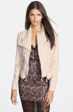 BLANKNYC Faux Leather Jacket   Nordstrom
