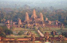 Атлантика, Ангкор-Ват (Камбоджа)